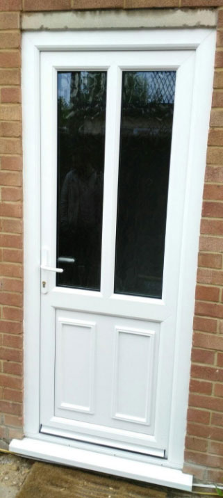 Atlanta Glazed UPVC Back Door