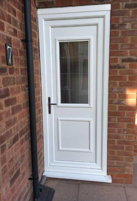 Chester UPVC Back Door