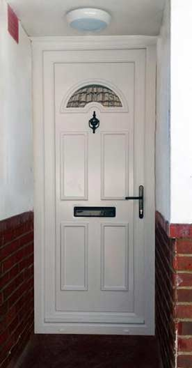 Carter One Glazed UPVC Door
