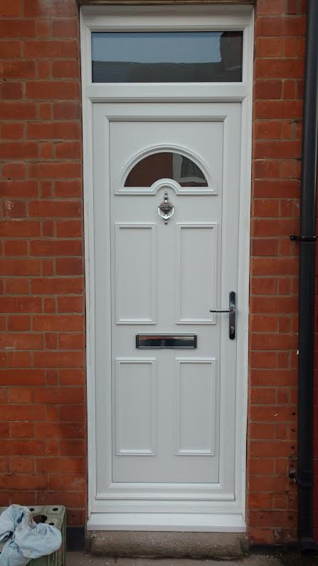 Cater One Glazed UPVC Door