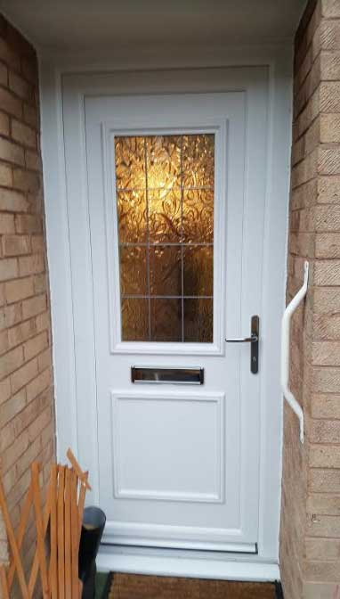Chester Square Lead UPVC Door