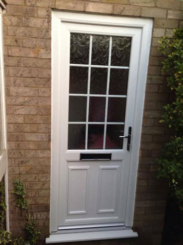 465 inc vat supply only for Upvc glass front doors