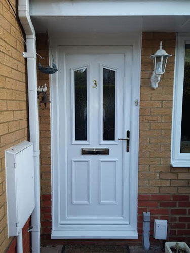 Clinton Two Image UPVC Door