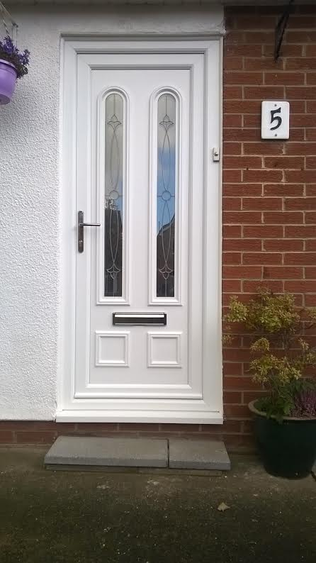 Grant Two Rennie UPVC Door