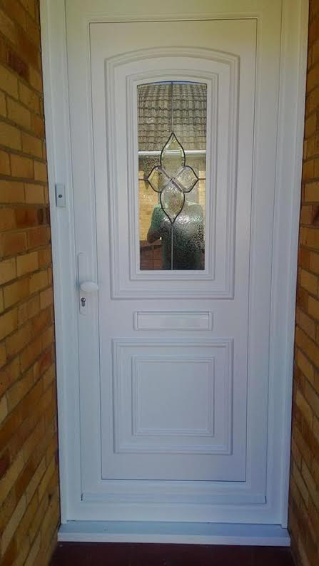 Reagan One Cluster UPVC Door