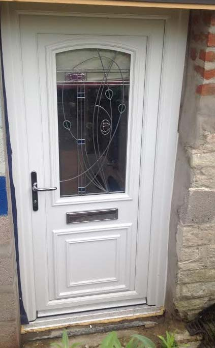 Roosevelt One Rennie UPVC Door