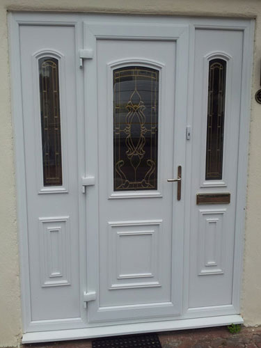Roosevelt One Glazed UPVC Door