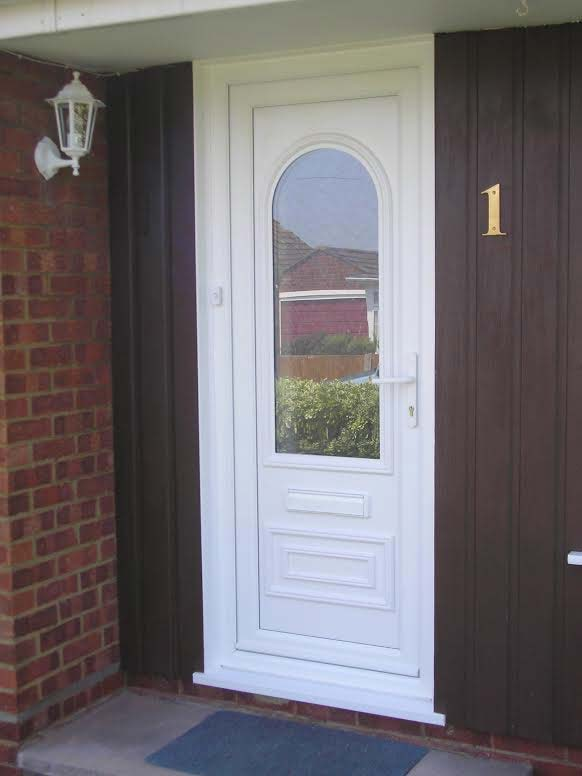 Truman One Glazed UPVC Door