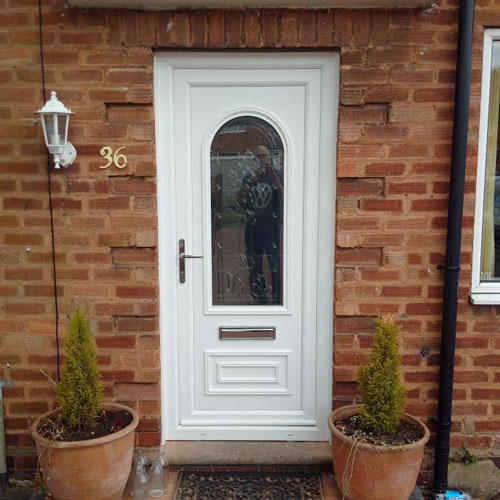 Truman One Tiffany UPVC Door
