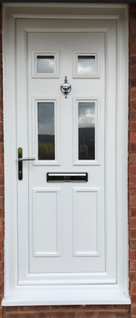 Wilson Four Glazed UPVC Door