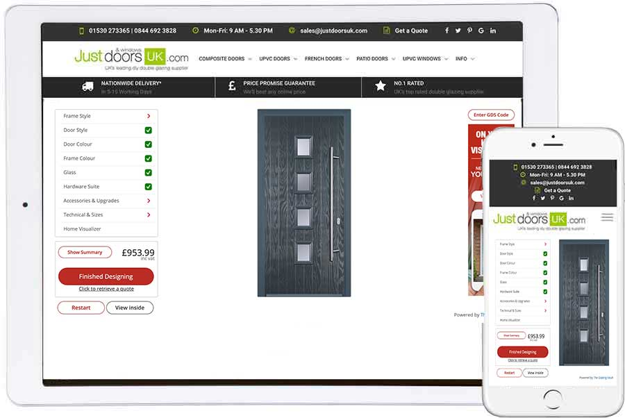 design and price your composite door online