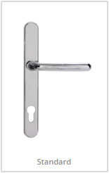 chrome lever handles