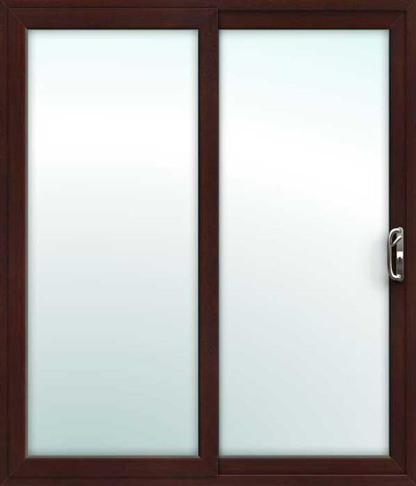 save off ad131 b5218 Rosewood 2 Pane Sliding Patio Doors