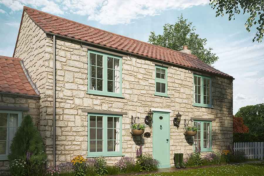 chartwell green flush sash casement windows